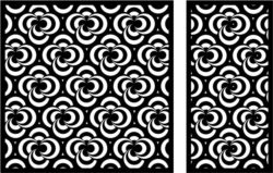 Design pattern panel screen E0008645 file cdr and dxf free vector download for Laser cut CNC