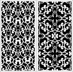 Design pattern panel screen E0008652 file cdr and dxf free vector download for Laser cut CNC