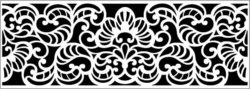 Design pattern panel screen E0008690 file cdr and dxf free vector download for Laser cut CNC