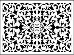Design pattern panel screen E0008840 file cdr and dxf free vector download for Laser cut CNC