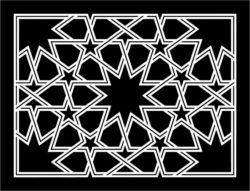 Design pattern panel screen E0008865 file cdr and dxf free vector download for Laser cut CNC