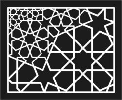Design pattern panel screen E0008867 file cdr and dxf free vector download for Laser cut CNC