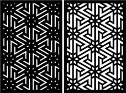 Design pattern panel screen E0008869 file cdr and dxf free vector download for Laser cut CNC