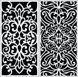 Design pattern panel screen E0008906 file cdr and dxf free vector download for Laser cut CNC