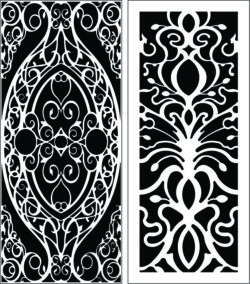 Design pattern panel screen E0008912 file cdr and dxf free vector download for Laser cut CNC