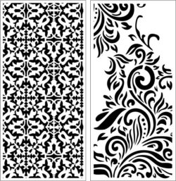 Design pattern panel screen E0008965 file cdr and dxf free vector download for Laser cut CNC