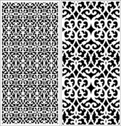 Design pattern panel screen E0008966 file cdr and dxf free vector download for Laser cut CNC