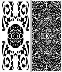 Design pattern panel screen E0008987 file cdr and dxf free vector download for Laser cut CNC