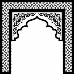 Gate file cdr and dxf free vector download for Laser cut CNC
