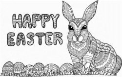 Happy easter file cdr and dxf free vector download for laser engraving machines