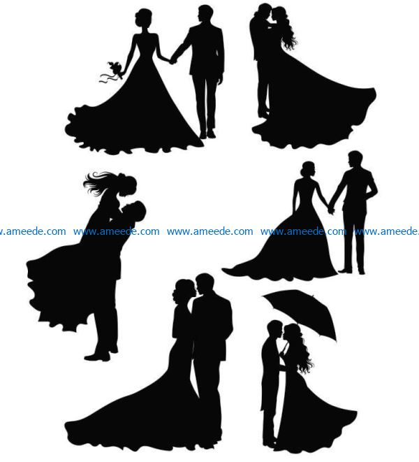 Happy wedding file cdr and dxf free vector download for Laser cut PlasmaHappy wedding file cdr and dxf free vector download for Laser cut Plasma