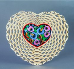 Heart basket file cdr and dxf free vector download for Laser cut
