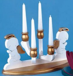 Holiday Candle Holders file cdr and dxf free vector download for Laser cut