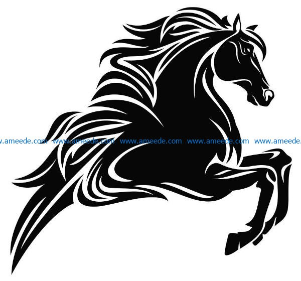 Horse hurdles file cdr and dxf free vector download for laser engraving machines