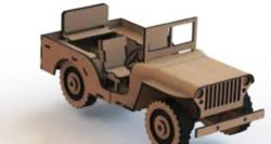 Jeep car file cdr and dxf free vector download for Laser cut