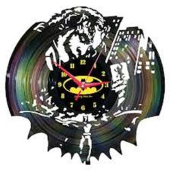 Joker wall clock file cdr and dxf free vector download for Laser cut