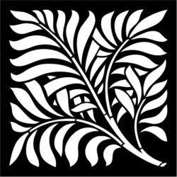 Leaf Panel Deco file cdr and dxf free vector download for Laser cut CNC