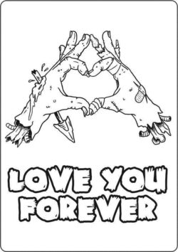 Love you forever file cdr and dxf free vector download for laser engraving machines
