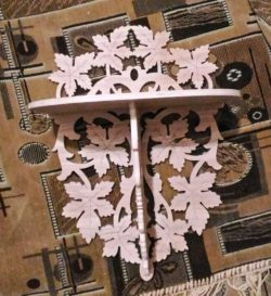 Maple leaf shelf file cdr and dxf free vector download for Laser cut