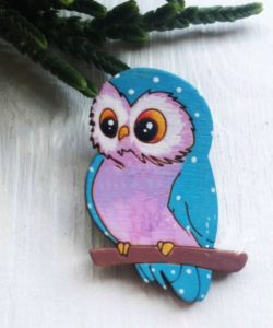 Owl on the tree branch file cdr and dxf free vector download for Laser cut