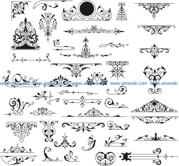 Timbre Vintage Banque file cdr and dxf free vector download for laser engraving machines
