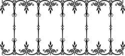 Unique decorative frame file cdr and dxf free vector download for laser engraving machines