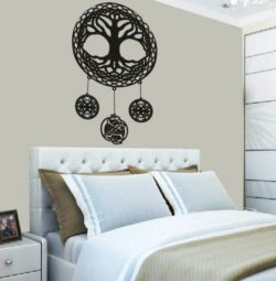 Tree mural file cdr and dxf free vector download for Laser cut