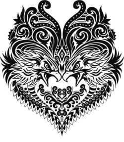 ethnic eagle file cdr and dxf free vector download for print or laser engraving machines