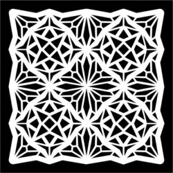 square pattern  file cdr and dxf free vector download for Laser cut