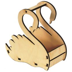 swan basket file cdr and dxf free vector download for Laser cut CNC