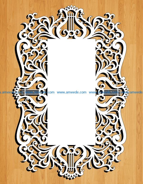 8 March greeting card file cdr and dxf free vector download for Laser cut
