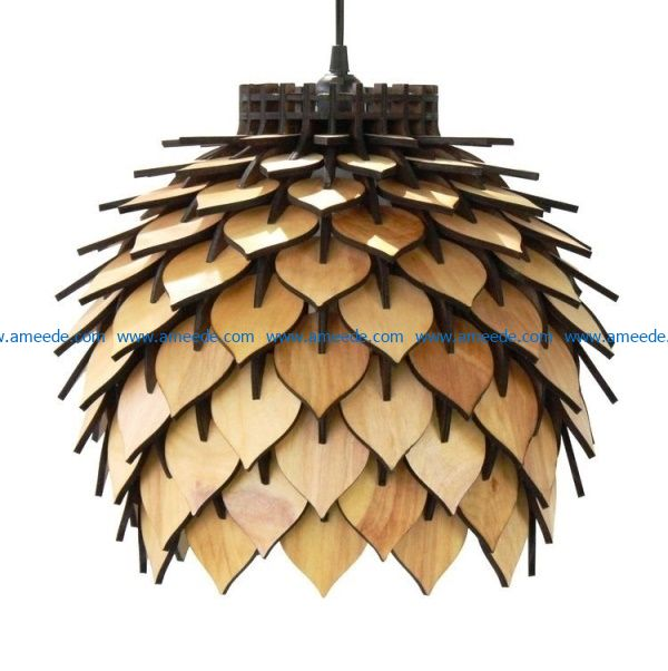Artichoke chandelier file cdr and dxf free vector download for Laser cut