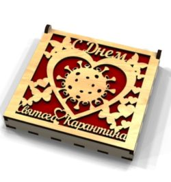 Corona box file cdr and dxf free vector download for Laser cut