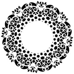 Decorative motifs circle E0009263 file cdr and dxf free vector download for Laser cut