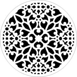 Decorative motifs circle E0009302 file cdr and dxf free vector download for Laser cut