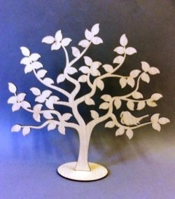 Decorative tree file cdr and dxf free vector download for Laser cut