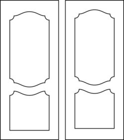 Design pattern door E0009394 file cdr and dxf free vector download for Laser cut CNC