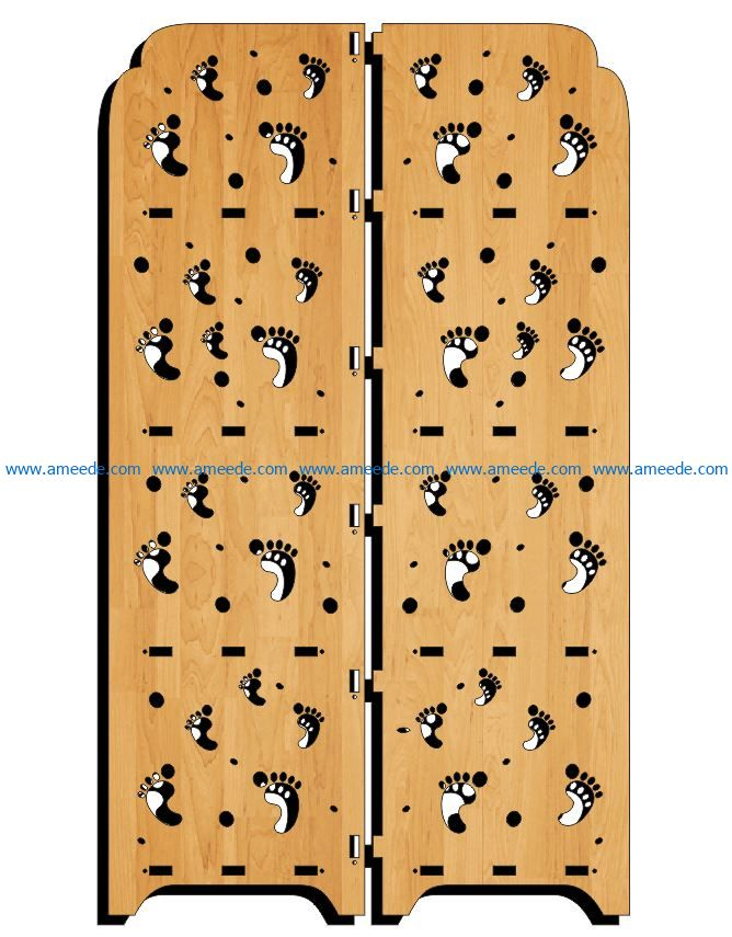 Design pattern panel screen E0009117 file cdr and dxf free vector download for Laser cut CNC