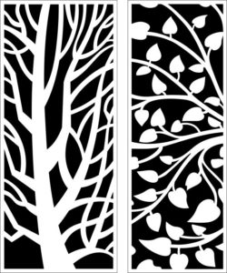 Design pattern panel screen E0009163 file cdr and dxf free vector download for Laser cut CNC