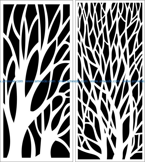 Design pattern panel screen E0009165 file cdr and dxf free vector download for Laser cut CNC