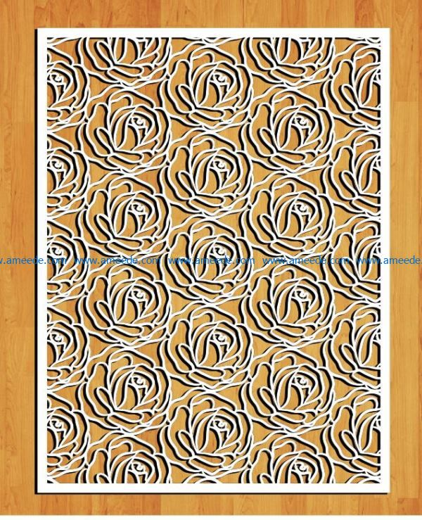 Design pattern panel screen E0009256 file cdr and dxf free vector download for Laser cut CNC