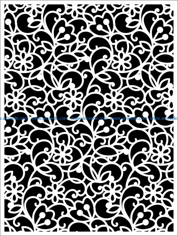 Design pattern panel screen E0009257 file cdr and dxf free vector download for Laser cut CNC