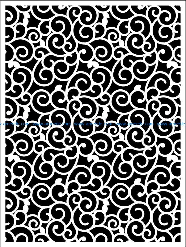 Design pattern panel screen E0009258 file cdr and dxf free vector download for Laser cut CNC