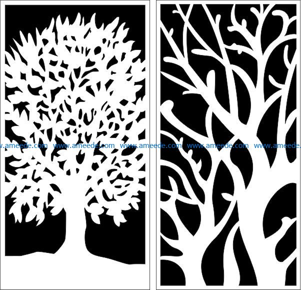Design pattern panel screen E0009292 file cdr and dxf free vector download for Laser cut CNC