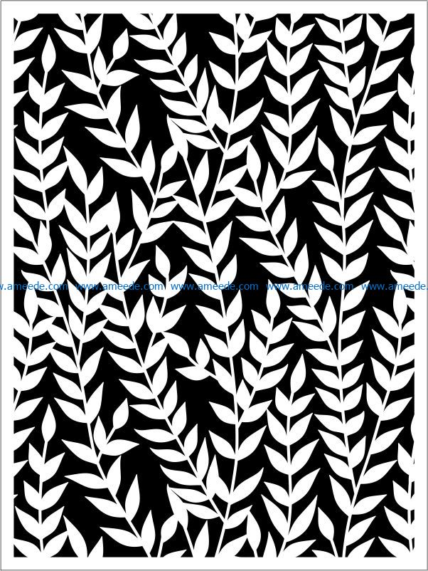 Design pattern panel screen E0009342 file cdr and dxf free vector download for Laser cut CNC