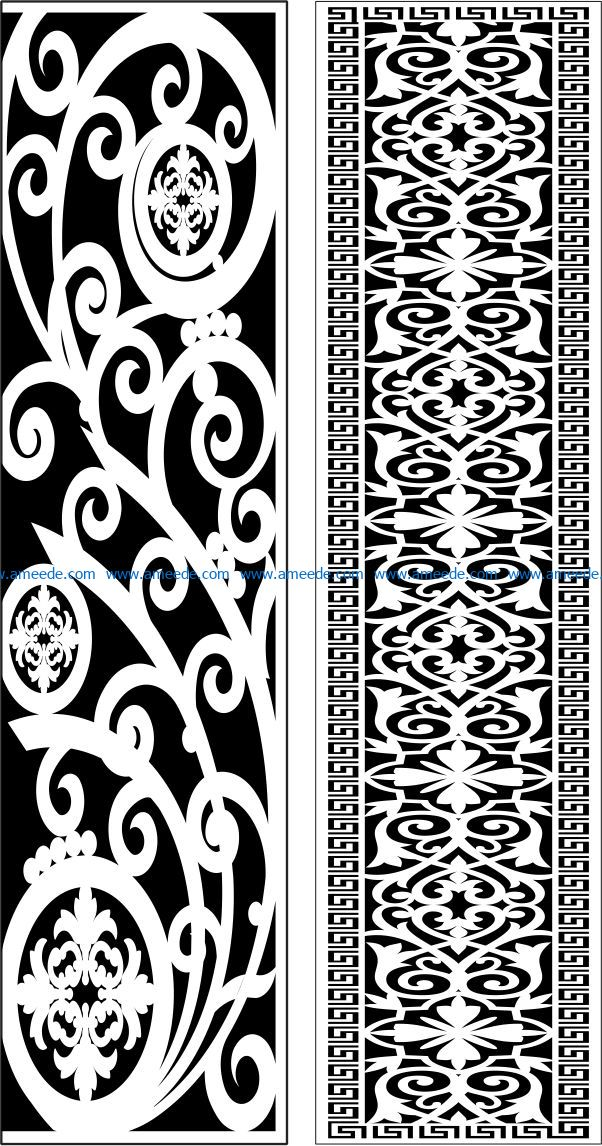 Design pattern panel screen E0009545 file cdr and dxf free vector download for Laser cut CNC Design pattern panel screen E0009545 file cdr and dxf free vector download for Laser cut CNC
