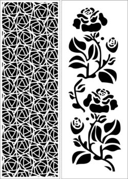 Design pattern panel screen E0009588 file cdr and dxf free vector download for Laser cut CNC