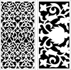Design pattern panel screen E0009591 file cdr and dxf free vector download for Laser cut CNC