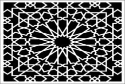 Design pattern panel screen E0009621 file cdr and dxf free vector download for Laser cut CNC