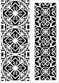 Design pattern panel screen E0009660 file cdr and dxf free vector download for Laser cut CNC